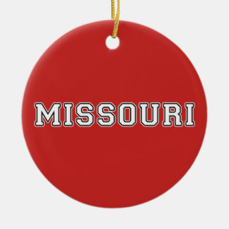 Missouri Ceramic Ornament