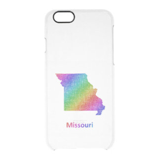 Missouri Clear iPhone 6/6S Case