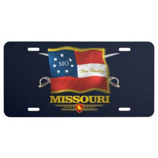 Missouri Deo Vindice License Plate