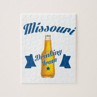 Missouri Drinking team Jigsaw Puzzle