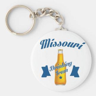Missouri Drinking team Keychain