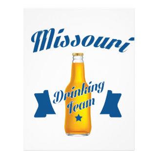 Missouri Drinking team Letterhead