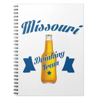 Missouri Drinking team Notebooks