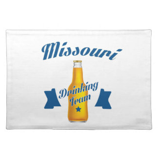 Missouri Drinking team Placemat
