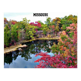 Missouri Fall Photograph Postcard