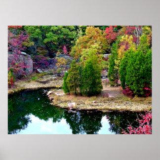 Missouri Fall Trees Photograph Poster