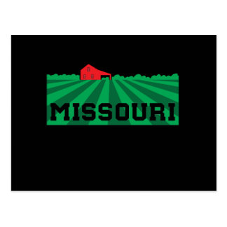 Missouri Farmland Postcard