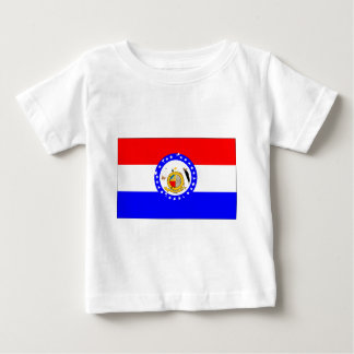 missouri-Flag Baby T-Shirt