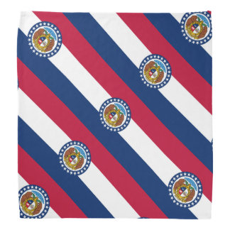 Missouri flag bandanas