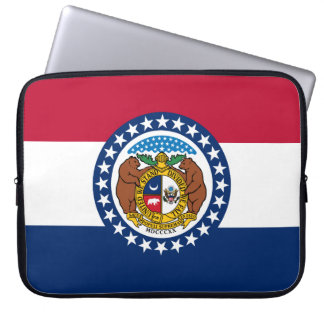 Missouri Flag Laptop Sleeve