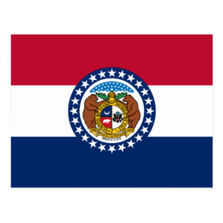 Missouri Flag Postcard