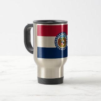 Missouri Flag Travel Mug