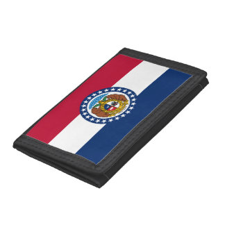 Missouri Flag Tri-fold Wallet