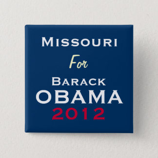 MISSOURI For OBAMA 2012 Campaign Button
