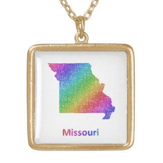 Missouri Gold Plated Necklace