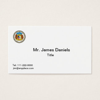 Missouri Great Seal Business Card Templates