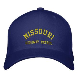 MISSOURI, HIGHWAY PATROL EMBROIDERED HAT