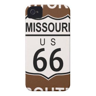 Missouri Historic Route 66 Case-Mate iPhone 4 Cases