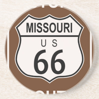 Missouri Historic Route 66 Drink Coasters