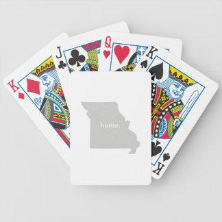 Missouri Home State Poker Deck