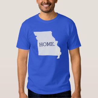 Missouri Home State Royal Blue T Shirts