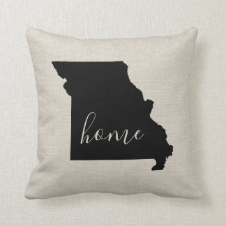 Missouri Home State Throw Pillow
