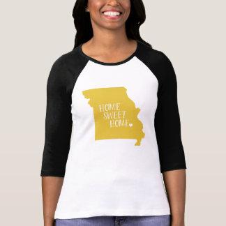 Missouri Home Sweet Home Yellow T-Shirt