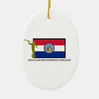MISSOURI INDEPENDENCE MISSION LDS CTR CERAMIC ORNAMENT