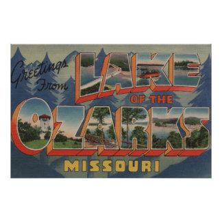 Missouri - Lake of the Ozarks 2 Poster