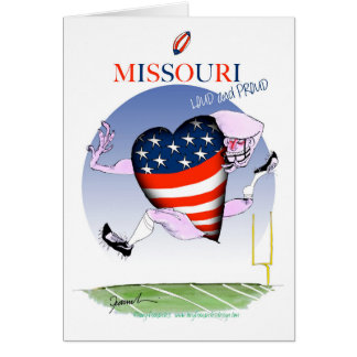 missouri loud and proud, tony fernandes card