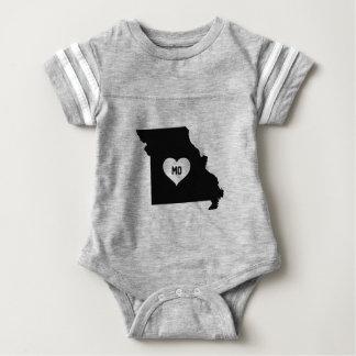 Missouri Love Baby Bodysuit