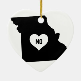 Missouri Love Ceramic Ornament