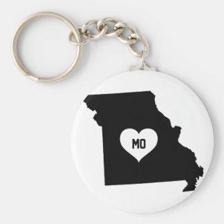 Missouri Love Keychain