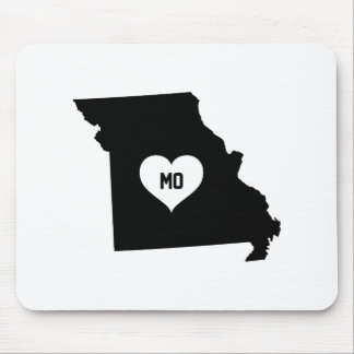 Missouri Love Mouse Pad