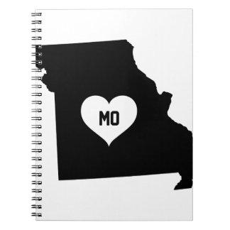 Missouri Love Notebooks