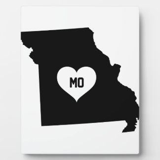 Missouri Love Plaque