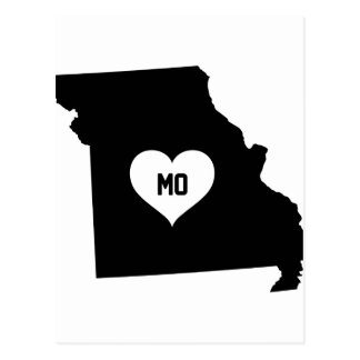 Missouri Love Postcard