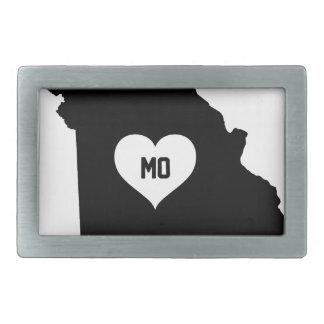 Missouri Love Rectangular Belt Buckle