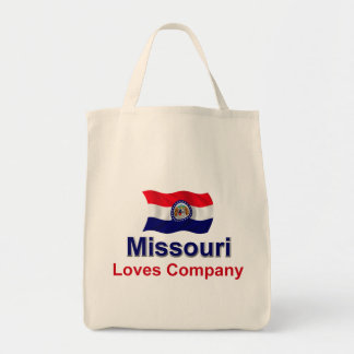 Missouri Loves Company Grocery Tote Bag