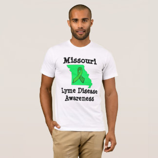 Missouri Lyme Disease Awareness Mens Shirt