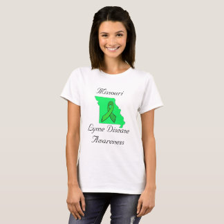 Missouri Lyme Disease Awareness T-Shirt