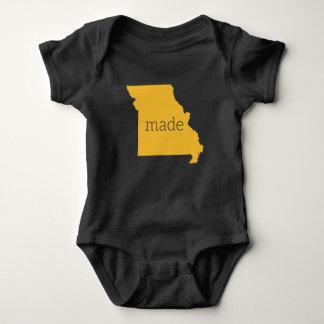 Missouri Made Baby Bodysuit {Black and Gold}