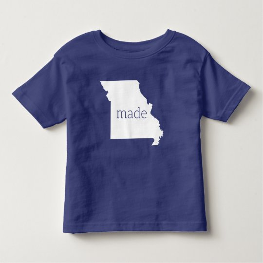 Missouri Made Toddler Tee