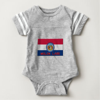 Missouri Molon Labe Baby Bodysuit