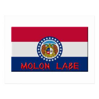 Missouri Molon Labe Postcard