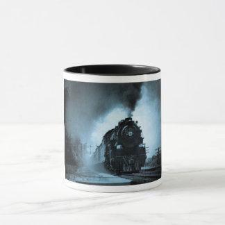 Missouri Pacific Steam Passenger Cyan 2 Mug