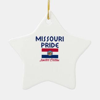 Missouri Pride DESIGNS Ceramic Star Ornament