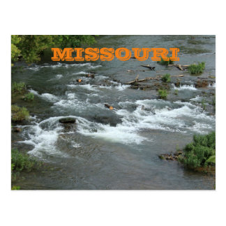 Missouri River Water Post Card
