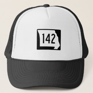 Missouri Route 142 Trucker Hat