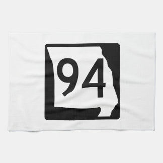 Missouri Route 94 Towel